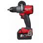 Milwaukee M18 FDD2-502X Perceuse 18V Fuel 2x5.0Ah (4933464267)