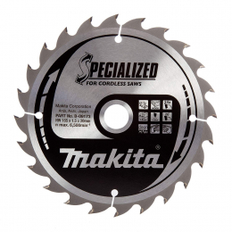 "Makita B-09173 Lame de scie circulaire ""Specialized"" ø165mm 24Dts"