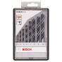 Bosch Coffret de 8 forets Bois ROBUSTLINE Ø 3/4/5/6/7/8/10mm (2607010533)