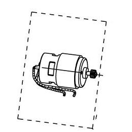 Ryobi Moteur 14.4V Perceuse LCD14021 et LCD14022NF (5131015913)