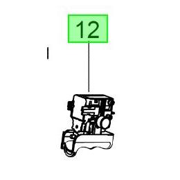 Milwaukee Interrupteur pour Ponceuse ROS150E2 (4931435905)