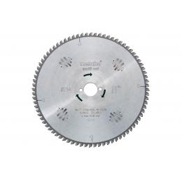 Metabo Lame de Scie Circulaire ø254x30x2.4 48Dts Bois Precision Cut (628223000)