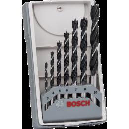 Bosch Coffret de 7 forets Bois  ø3/4/5/6/7/8/10mm (2607017034)