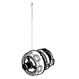 Metabo Carter de réducteur complet de Perceuse BS18 (316059380)