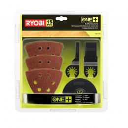 Ryobi Set d'accessoires Multitool pour le travail du Bois (5132002809)