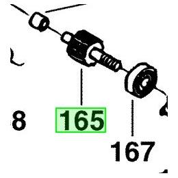 AEG Pignon de ponceuse BBSE1100, BBS1100 (4931313801)
