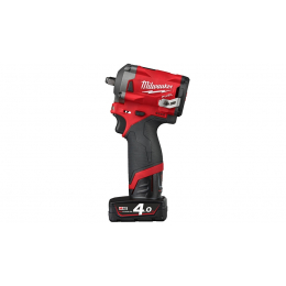 "Milwaukee M12 FIW38-422X Boulonneuse à choc 3/8"" 12V FUEL 1x4.0Ah et 1x2.0Ah + HD-BOX (4933464613)"