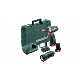 Metabo Powermaxx BS Basic Set Perceuse, Visseuse 10.8V 2x2.0Ah Li-ion 600080930