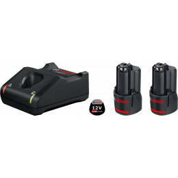 Bosch Starter Set GBA 12V 3.0Ah + Chargeur GAL 12V-40 (1600A019RD)