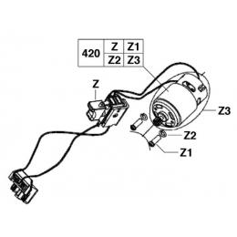 AEG Jeu de Réparation pour perceuse BS18XR (200432014)