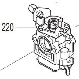 Makita 161517-9 Carburateur complet Souffleuse à feuilles