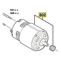 Bosch 2609006399 Moteur à Courant Continu 18V PSB18LI-2