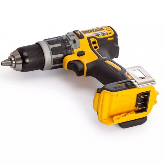 Dewalt DCD796N 18v XR Brushless Compact Combi Hammer Drill
