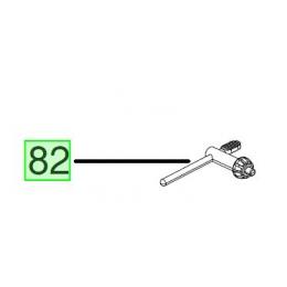 Milwaukee Clé de Mandrin perceuse d'angle M18FRAD (4931436565)