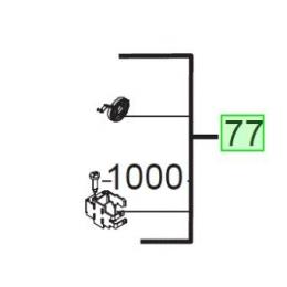 AEG Support de Charbon pour meuleuse (4931453650)