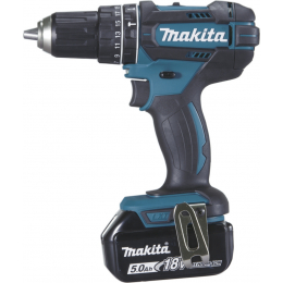Makita DHP482RTJ Perceuse, Visseuse à percussion 18V Li-Ion 2x5.0Ah + Mak-Pac