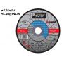 Disque à tronçonner MOLEMAB POWER diametre 125x1.6 plat mixte acier/inox