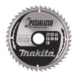Makita B-54433 Lame Carbure Bois ø190x30x1.45mm 44dts ''Specialized''
