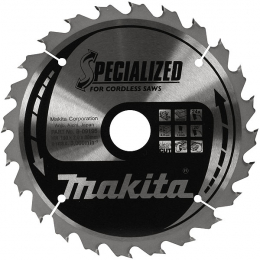 Makita B-09195 Lame Carbure Bois ø190x30x2mm 24dts ''Specialized''