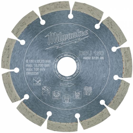 Milwaukee DSU150 Disque Diamant ø150mm pour rainureuses (4932373148)