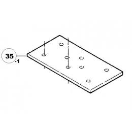 Ryobi Plateau mousse ponceuse HS35, NS801I, S35 (5131010877)