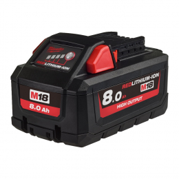 Milwaukee M18HB8 Batterie 18V 8.0Ah High Output (4932471070)