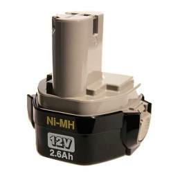 Makita Batterie 1234 Ni-Mh 12V - 2.5Ah (193100-4)