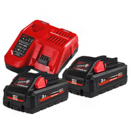 Milwaukee M18 HNRG-302 Batterie 18V 3.0Ah High Output + 1 Batterie M12B2 12V 2.0Ah Offerte (4933471071)