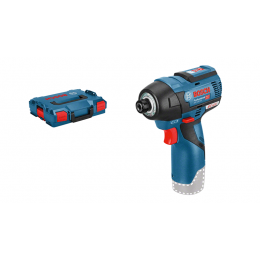 Bosch GDR 12V-110 Professional Boulonneuses, Visseuse à Choc 12V Li-Ion + L-BOXX (06019E0003)