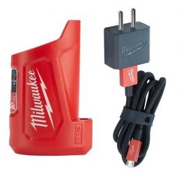 Milwaukee Chargeur 12V USB M12TC-0 (4932459450)