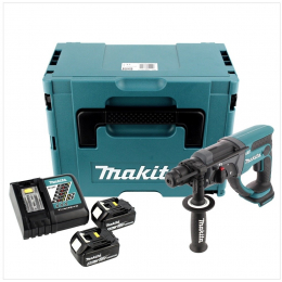 Makita DHR202RTJ Perforateur SDS-Plus 18V 2x5.0Ah + Mak-Pac