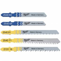 Milwaukee Set de 5 Lames Bois et Métal pour scie-sauteuse (4932345825)