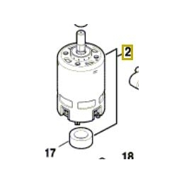 Bosch 1607022672 Moteur 36V Perforateur GBH36V-LI PLUS