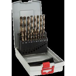 Bosch Coffret de 19 Forets à métaux Cobalt ø1 à 10mm (2608587014)