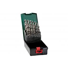 Metabo Coffret 25 pièces forets hélicoïdaux HSS-G (627669000)