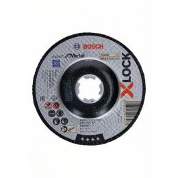 Bosch x25 Disques à tronçonner X-LOCK Expert for Metal ø125x2.5mm à moyeu déporté (2608619257)
