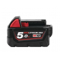 Milwaukee M18B5 Batterie 18V 5.0Ah Red Lithium-Ion (4932430483)