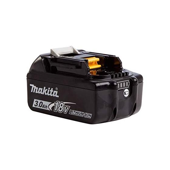 Makita BL1830B Batterie Makstar Li-ion 18V 3.0Ah avec témoin de charge