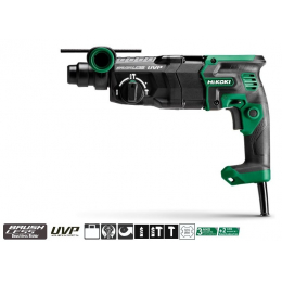 HiKoki DH28PEC WSZ Perforateur, Burineur SDS-plus Brushless 900W 3 Modes