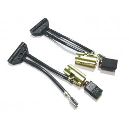 Festool 490714 Paire de charbons ponceuse ES150/3EQ, ETS150/5EQ, ETS150/3EQ, RTS400EQ