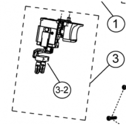 Ryobi 5131008025 Interrupteur Perceuse LCD18021, LCD18022, LCD1802, LCD14021, LCD14022,