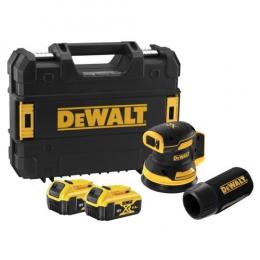 DeWalt DCW210P2-QW Ponceuse orbitale ø125mm sans fil 18V 2x5.0Ah + coffret TSTAK