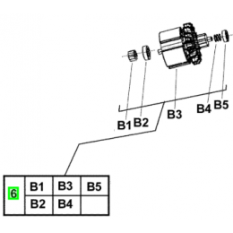 Milwaukee 200216058 Induit de perceuse 28V HD28PD