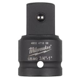 "Milwaukee Douille Adaptateur d'augmentation 3/4"" - 1"" (4932471658)"