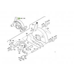 Bosch 3605500127 Capot de Protection GNF65A