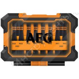 AEG Coffret de 10 embouts de vissage Impacts AAKSDK5010 (4932471963)