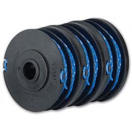 Ryobi RAC149 Lot 3 bobines simple fil torsadé Ø 1,5 mm pour coupe-bordures sur batterie (5132003310)