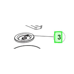 Ryobi Rondelle de pression (5131038735)
