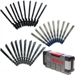 Bosch Coffret de 30 lames de scie sauteuse Basic for Wood and Metal (2607010903)