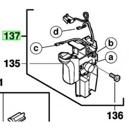 AEG 201894003 Kit interrupteur pour perforateur KH28SUPERXE